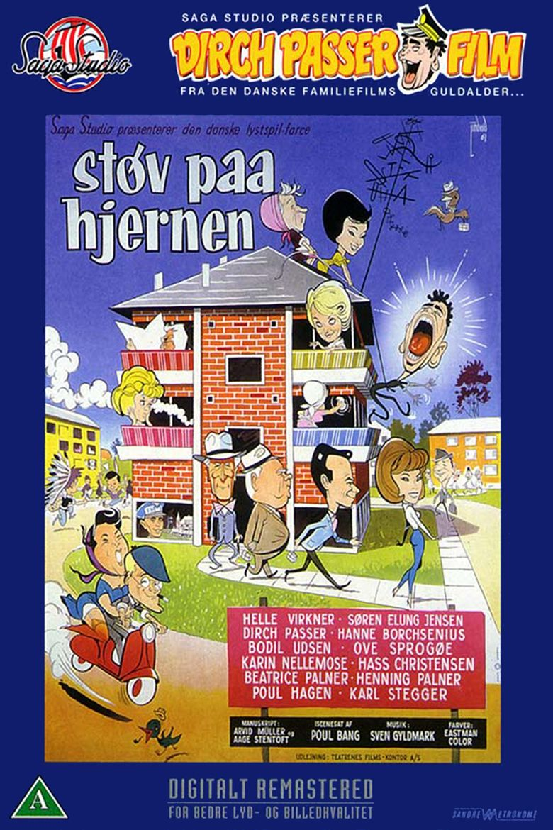 Stov pa hjernen (1961 film) movie poster