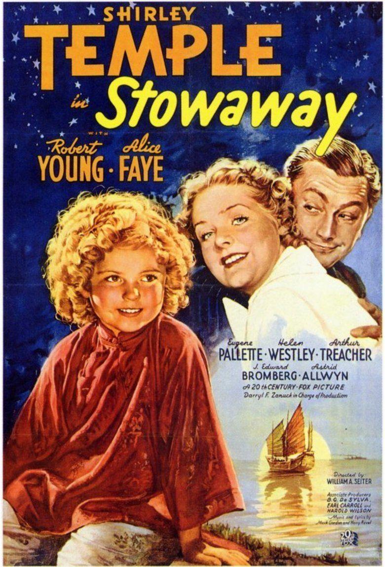 Stowaway (1936 film) movie poster