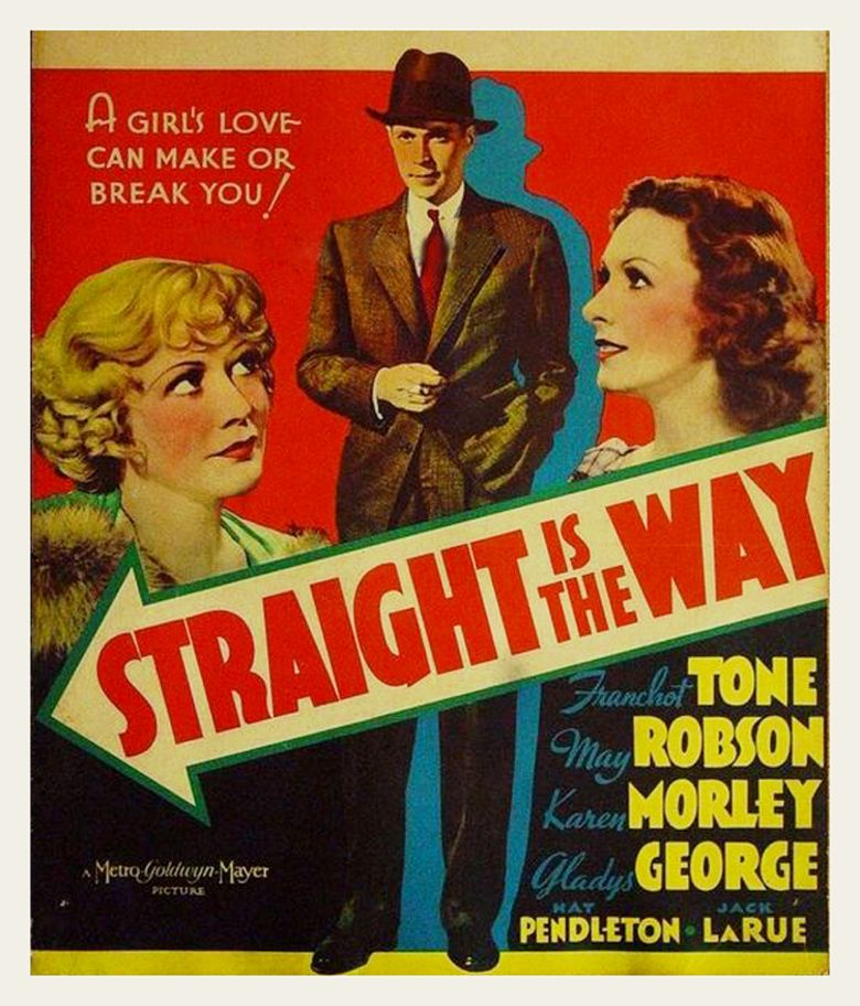 Straight Is the Way movie poster