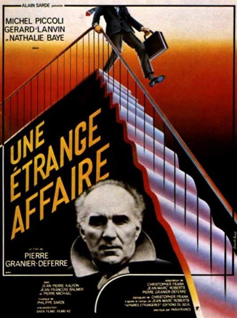 Strange Affair (film) movie poster