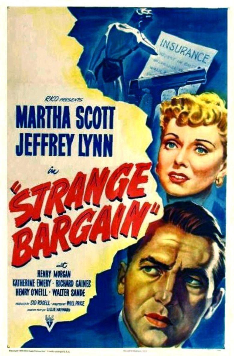 Strange Bargain movie poster
