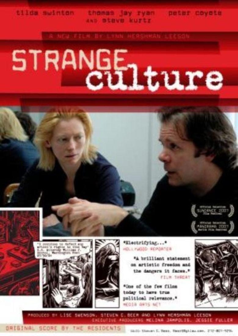 Strange Culture movie poster