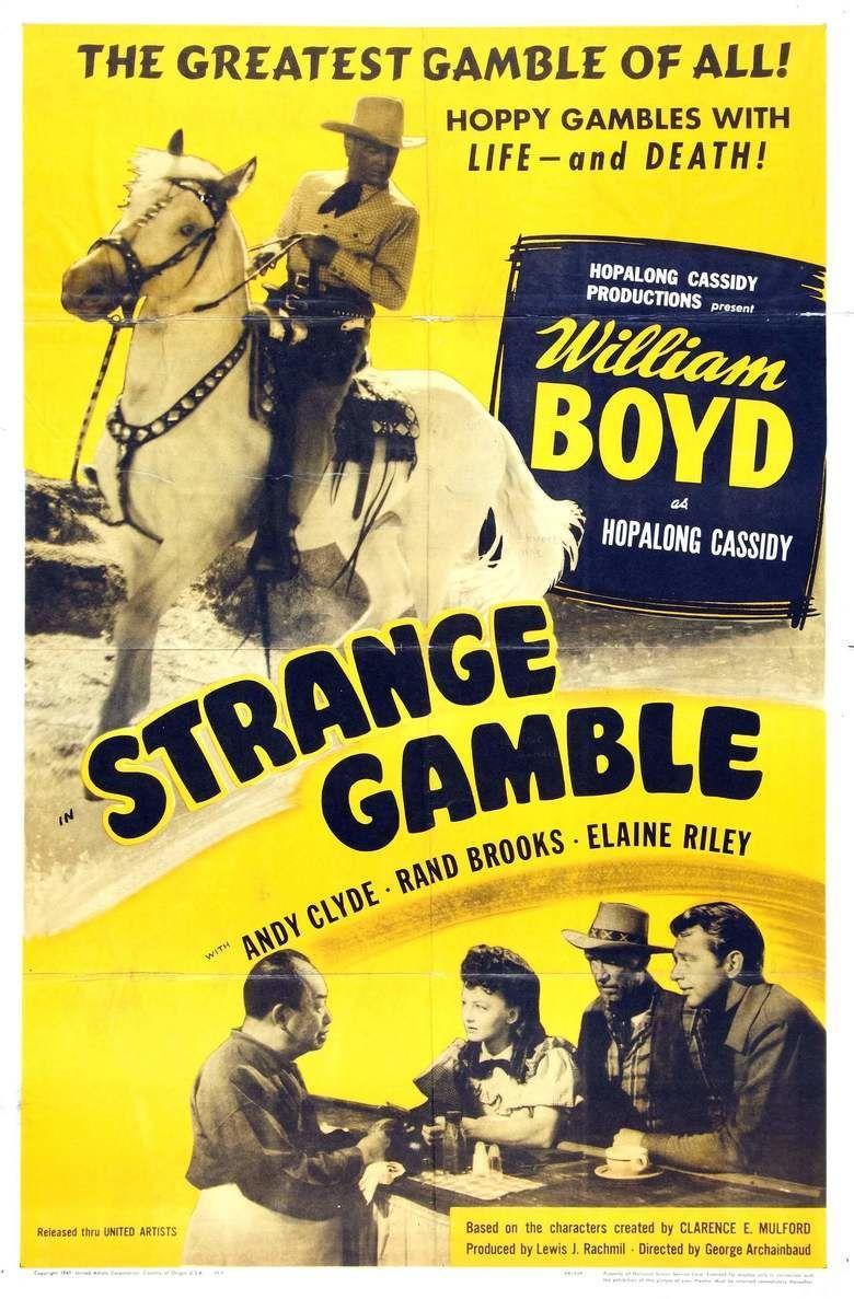 Strange Gamble movie poster