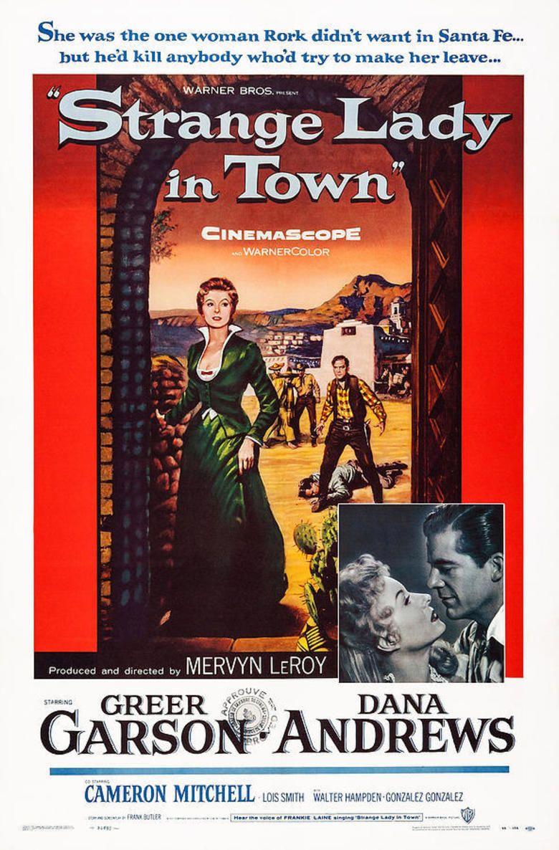 Strange Lady in Town movie poster