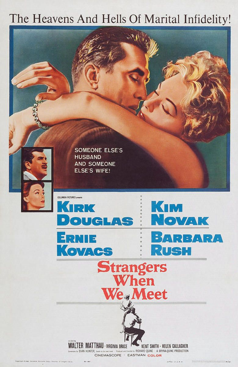 Strangers When We Meet (film) movie poster