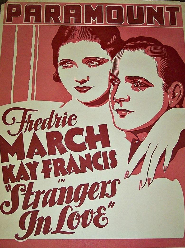 Strangers in Love movie poster