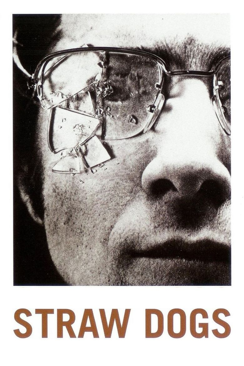 Straw Dogs (1971 film) movie poster
