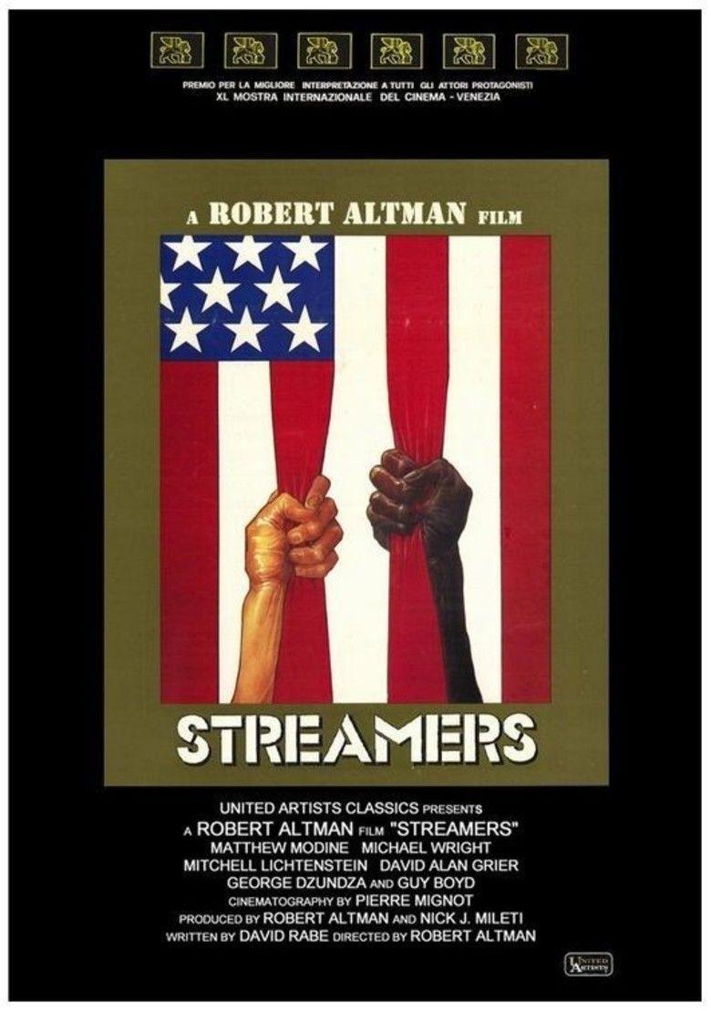 Streamers (film) movie poster