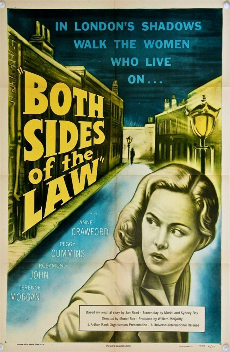 Street Corner (1953 film) movie poster