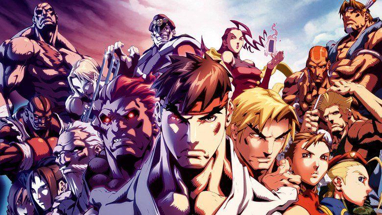 Street Fighter II: The Animated Movie movie scenes