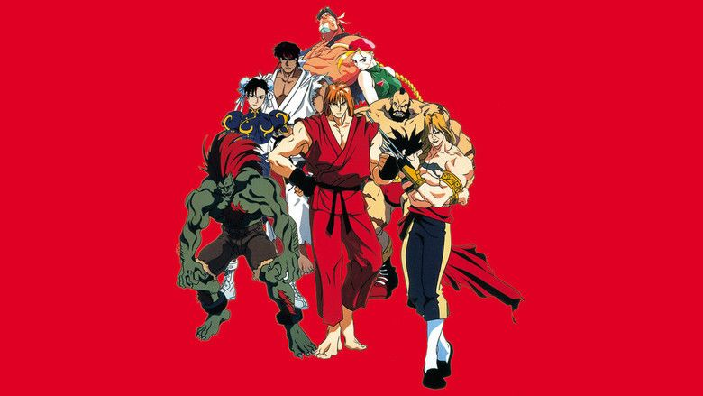 Street Fighter Ii The Animated Movie Alchetron The Free Social