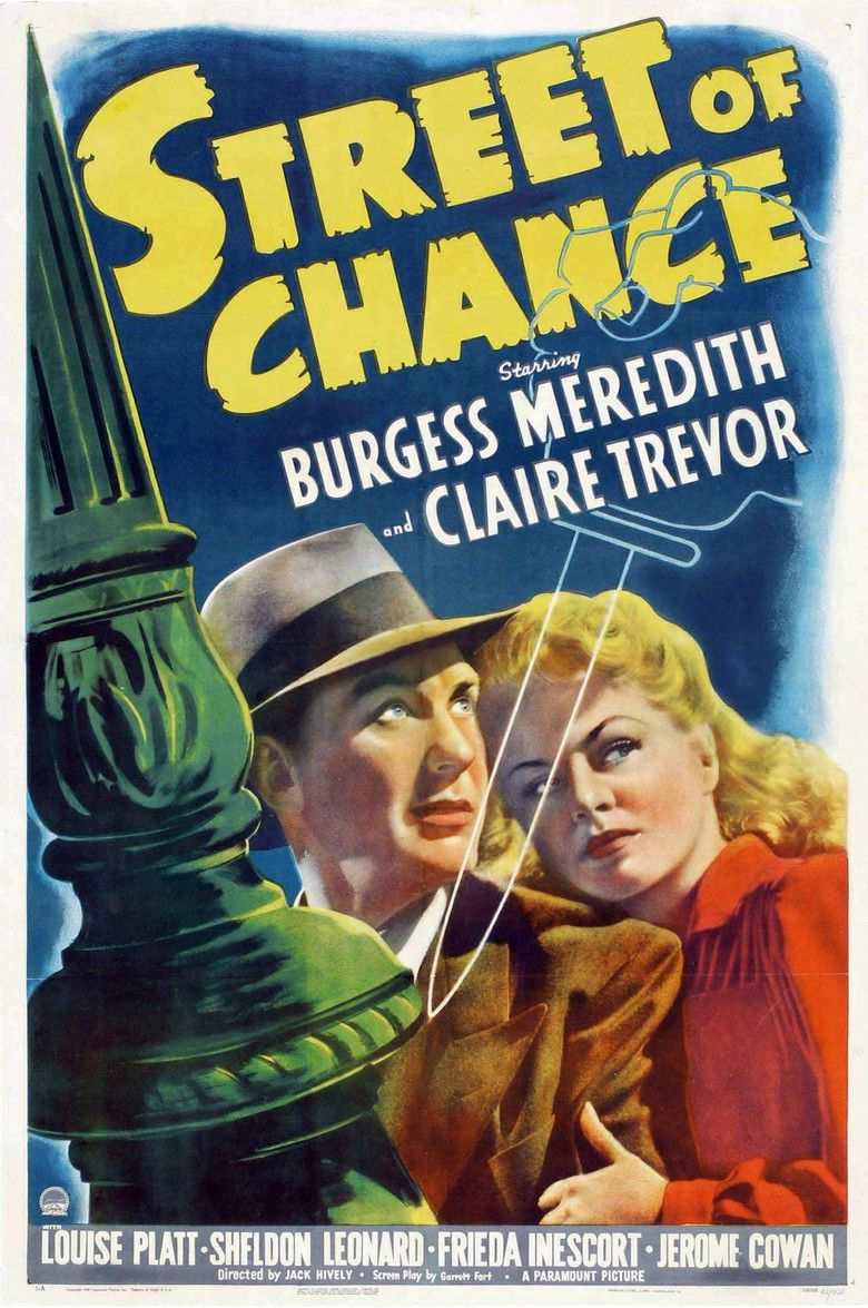Street of Chance (1942 film) movie poster