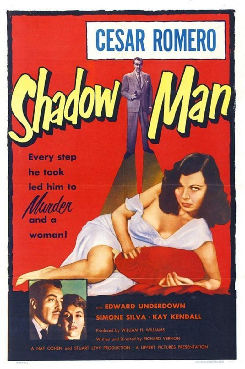 Street of Shadows (1953 film) movie poster