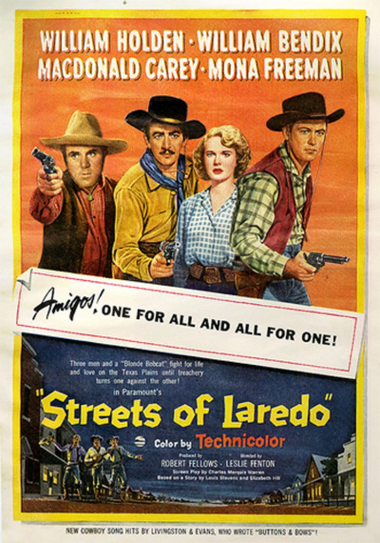 Streets of Laredo (film) movie poster