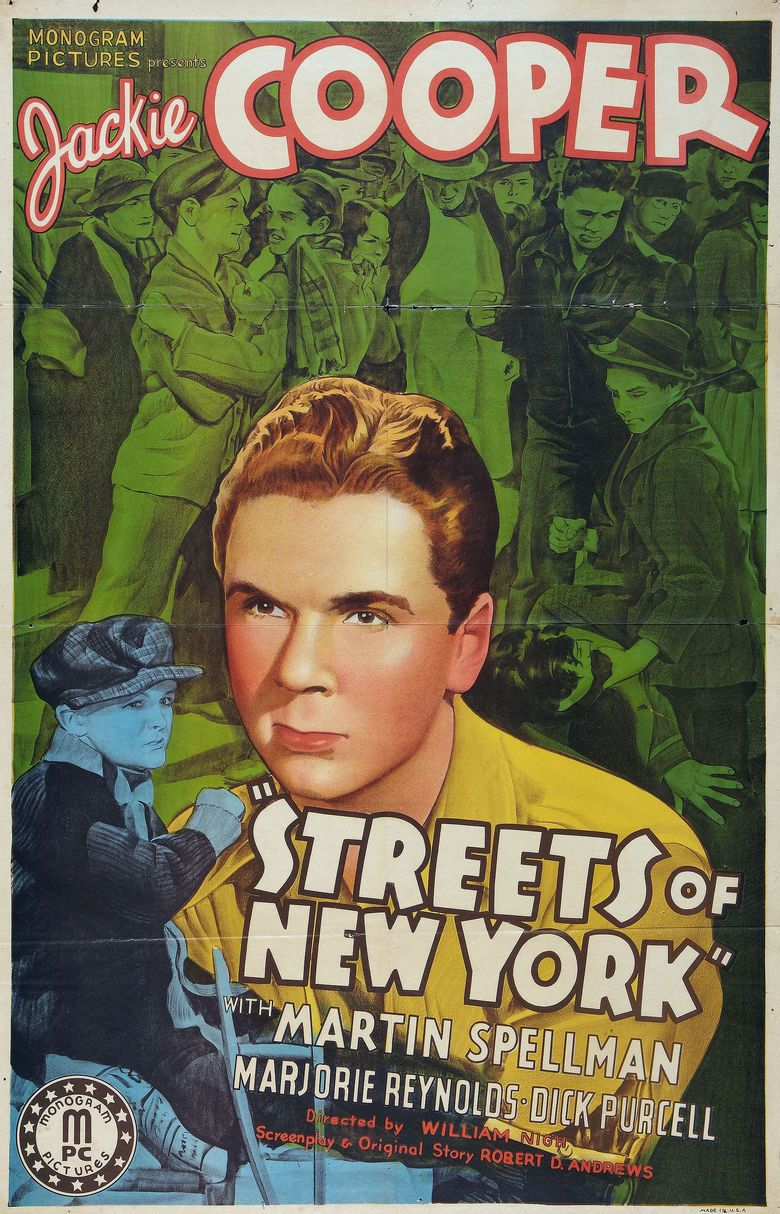 Streets of New York (1939 film) movie poster