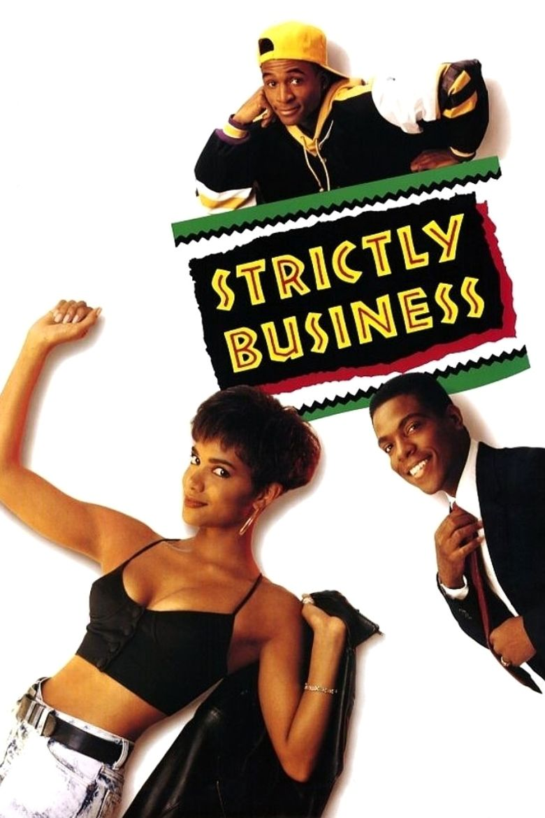 Strictly Business (1991 film) movie poster