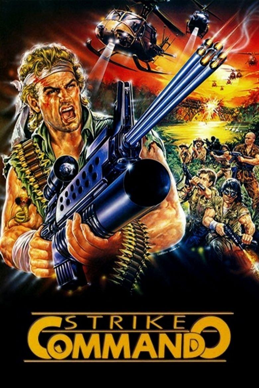 Strike Commando movie poster