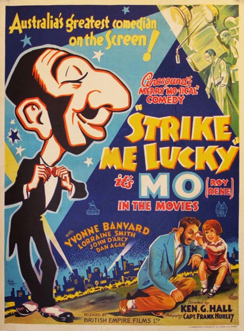 Strike Me Lucky movie poster