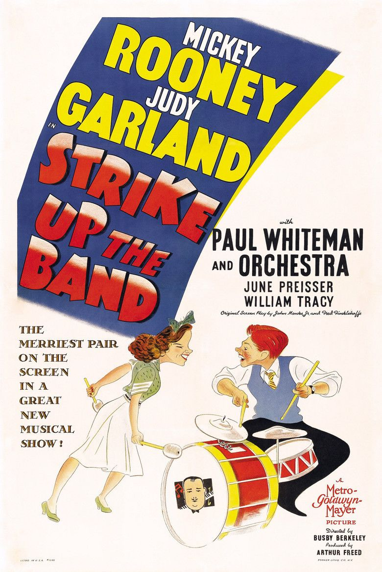 Strike Up the Band (film) movie poster