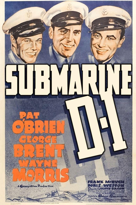 Submarine D 1 movie poster