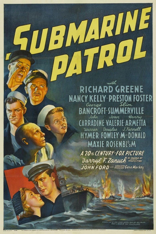 Submarine Patrol movie poster