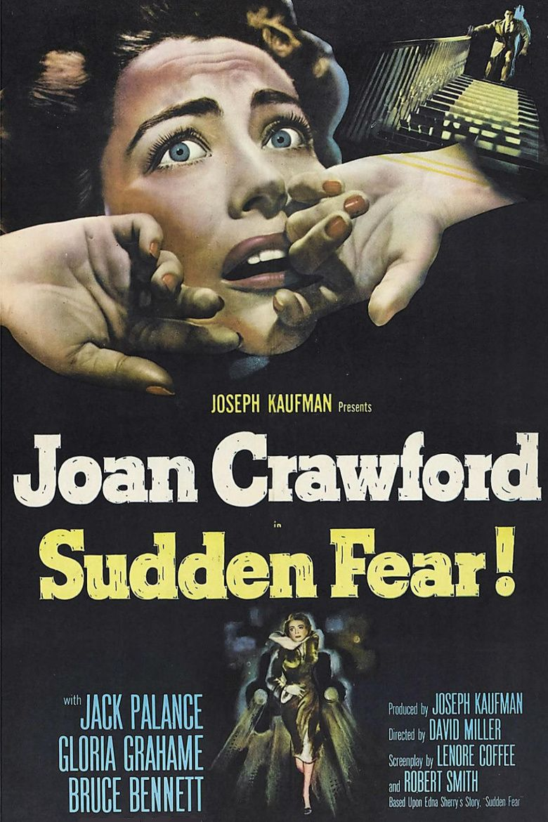 Sudden Fear movie poster