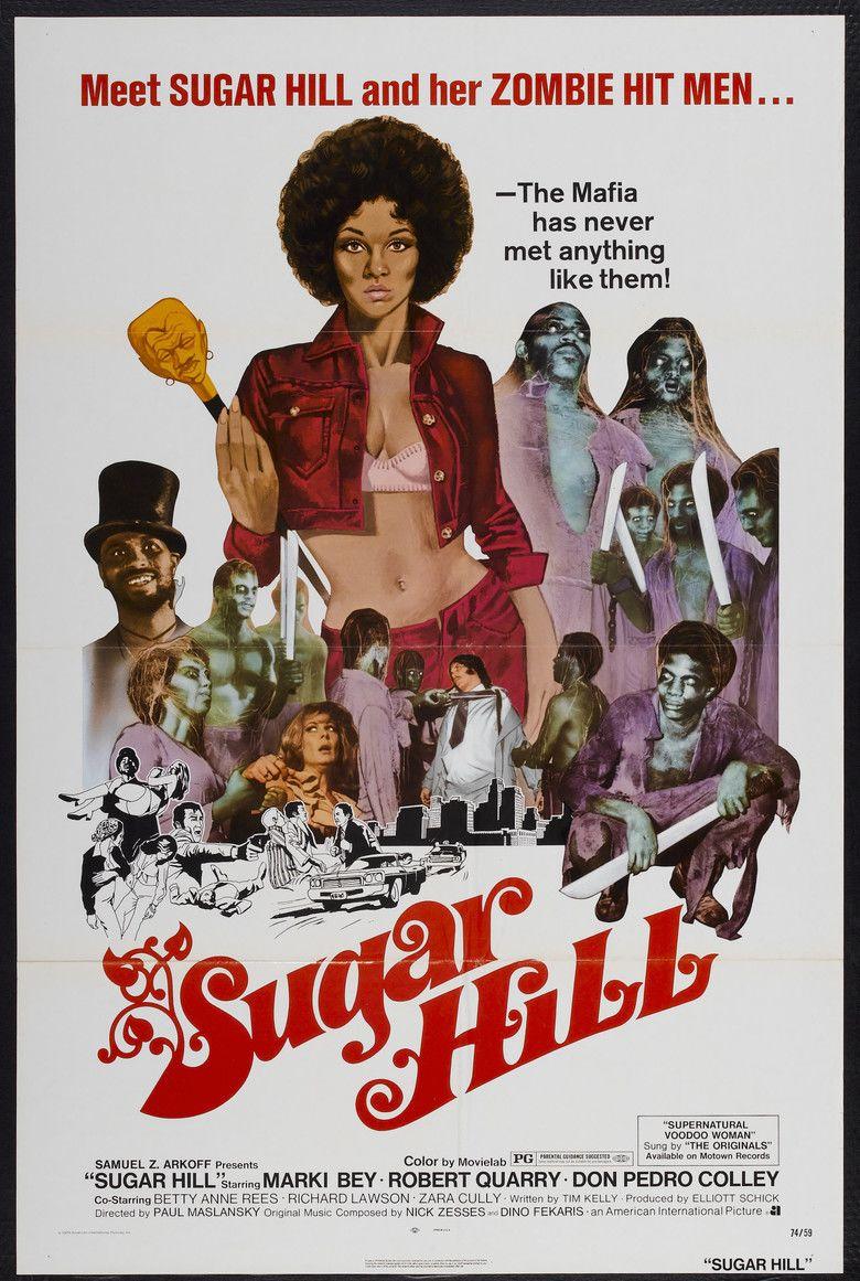 Sugar Hill (1974 film) movie poster