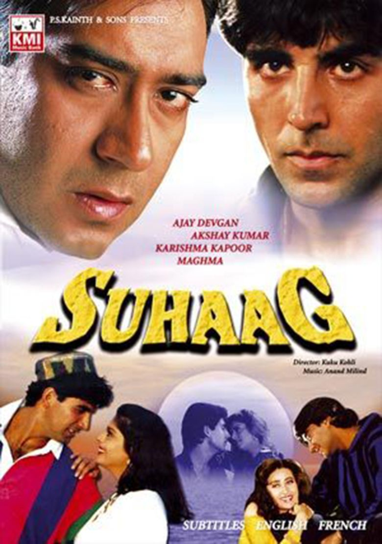 Suhaag (1994 film) movie poster