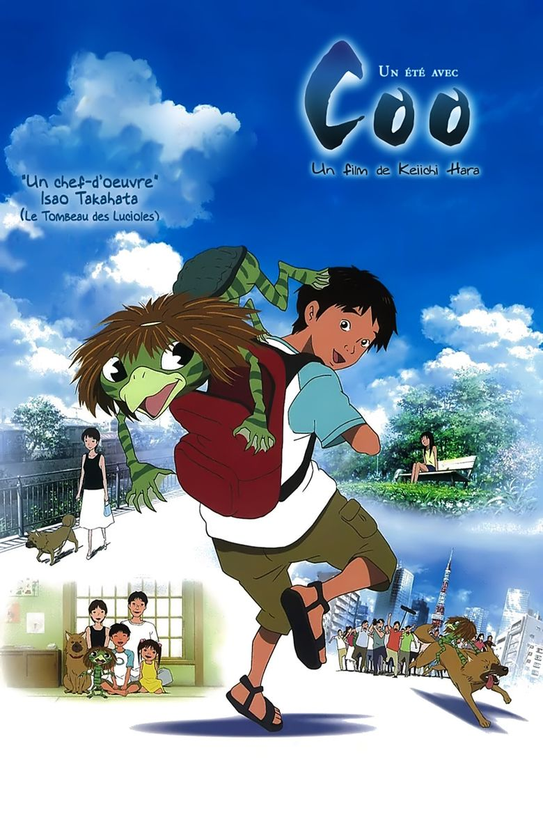 Summer Days with Coo movie poster