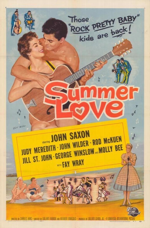 Summer Love (1958 film) movie poster