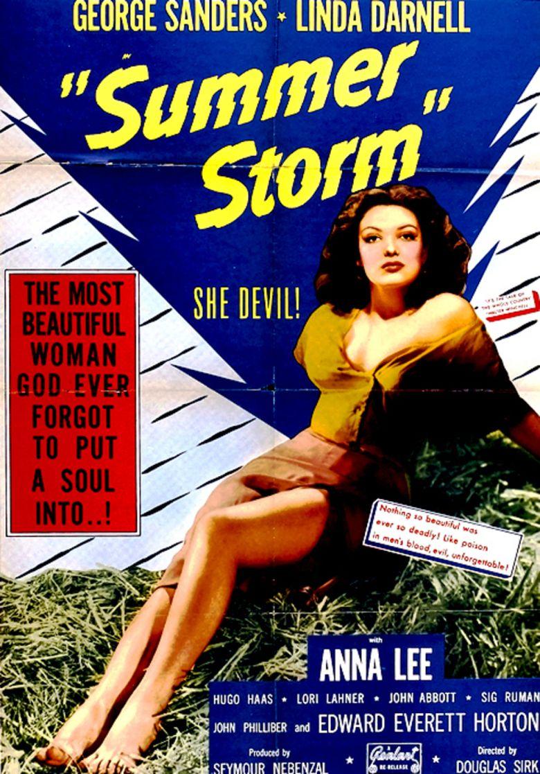 Summer Storm (1944 film) movie poster
