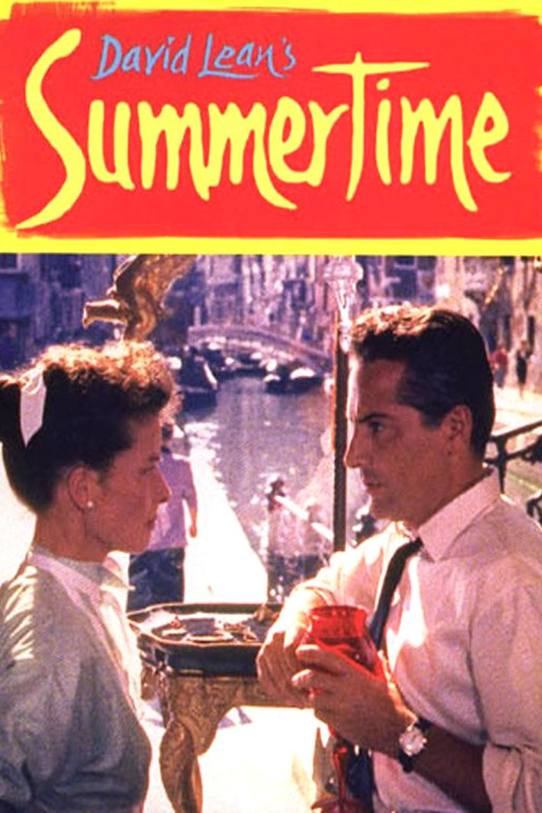 Summertime (1955 film) movie poster