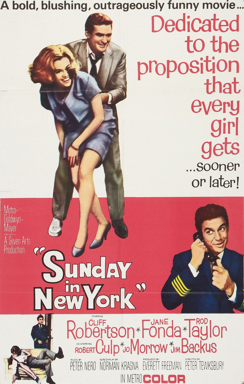 Sunday in New York movie poster