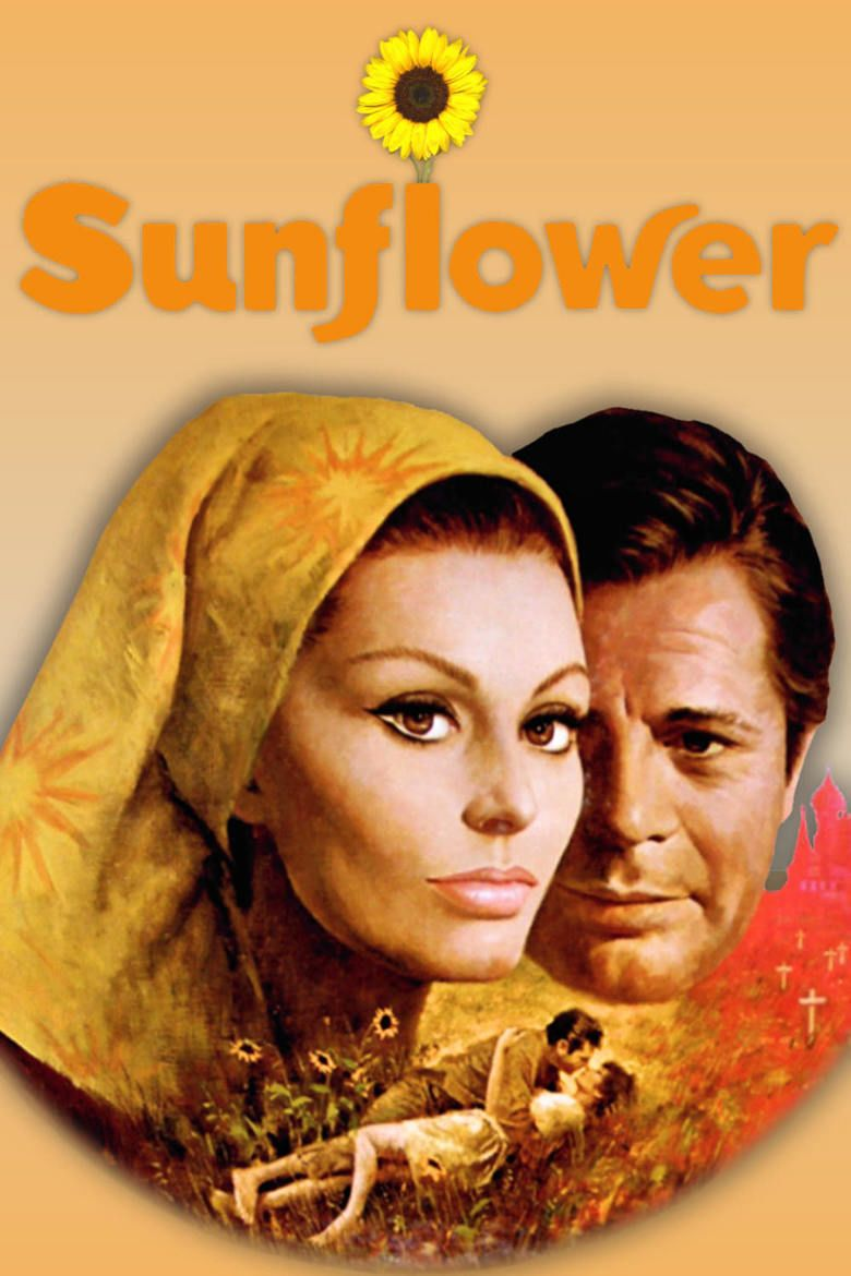 Sunflower (1970 film) movie poster