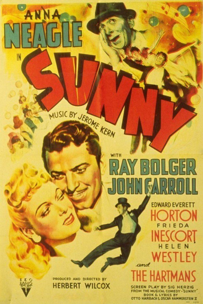 Sunny (1941 film) movie poster