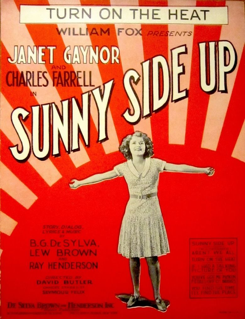 Sunny Side Up (film) movie poster