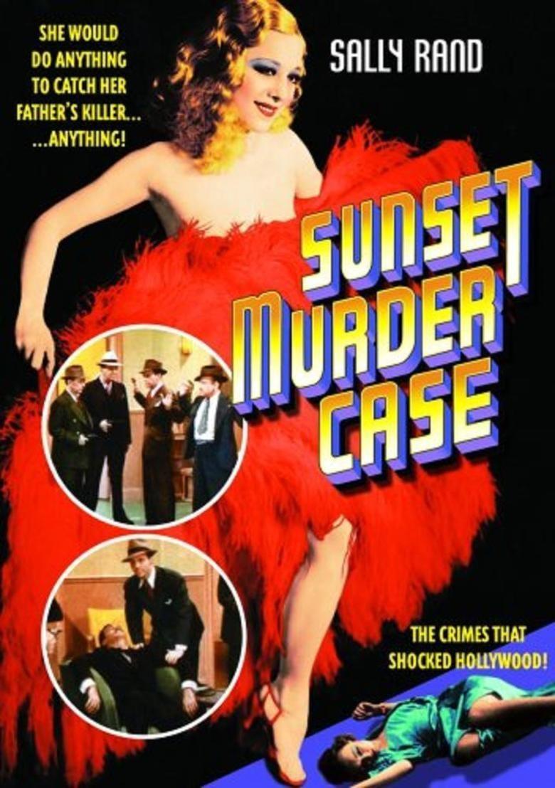 Sunset Murder Case movie poster