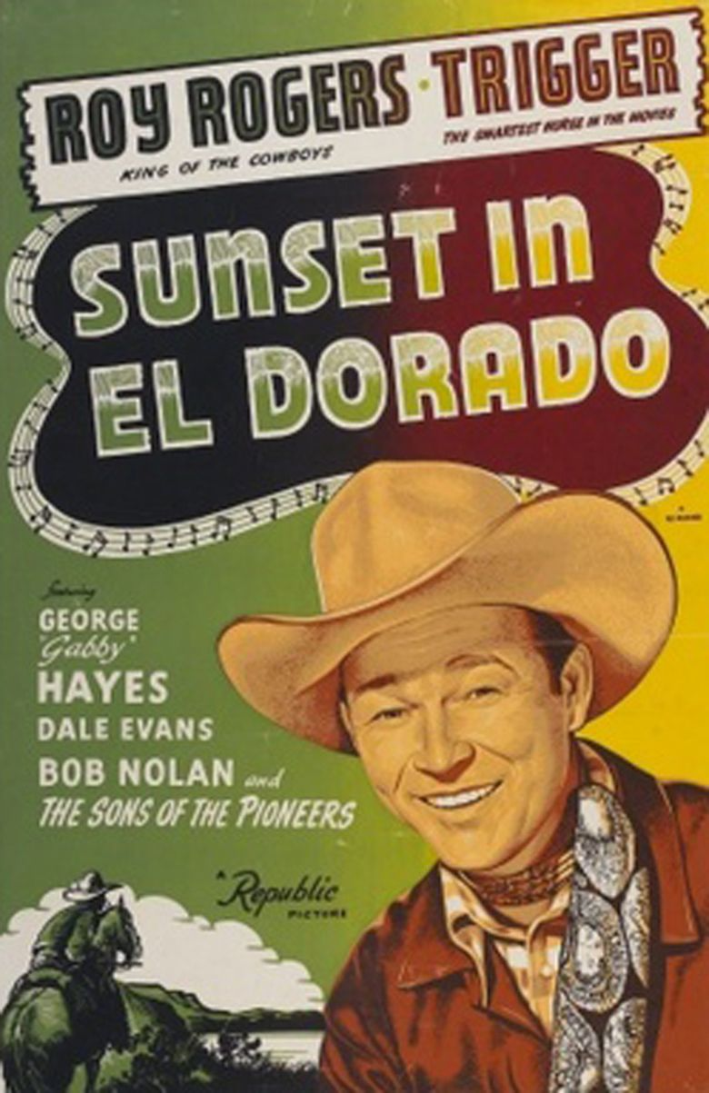 Sunset in El Dorado movie poster