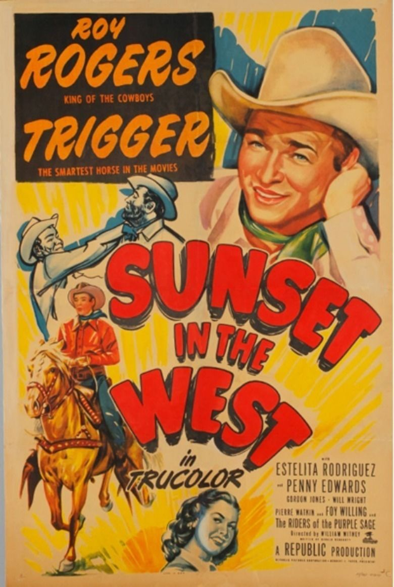 Sunset in the West movie poster