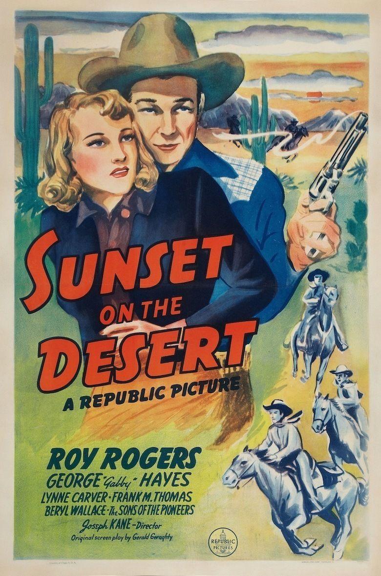 Sunset on the Desert movie poster