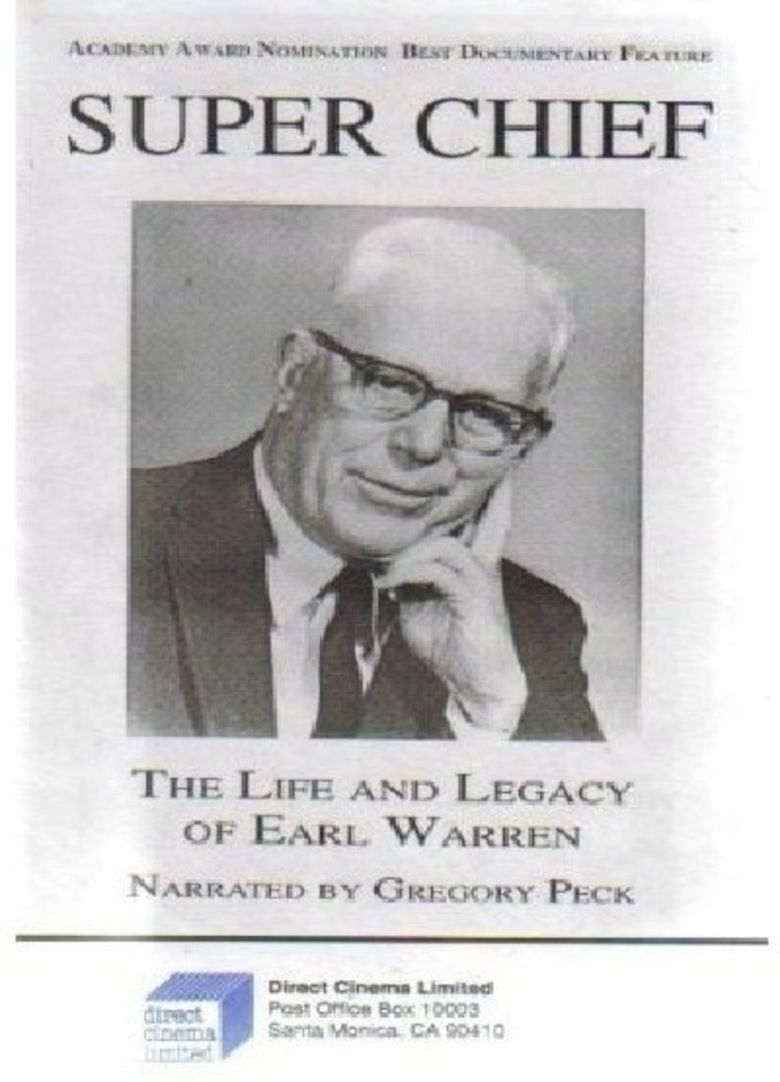 Super Chief: The Life and Legacy of Earl Warren movie poster