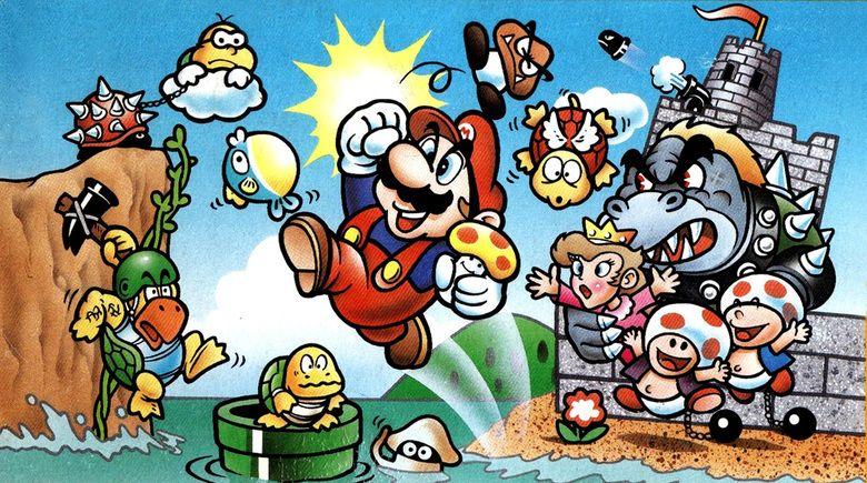 Super Mario Bros: Peach Hime Kyushutsu Dai Sakusen! movie scenes