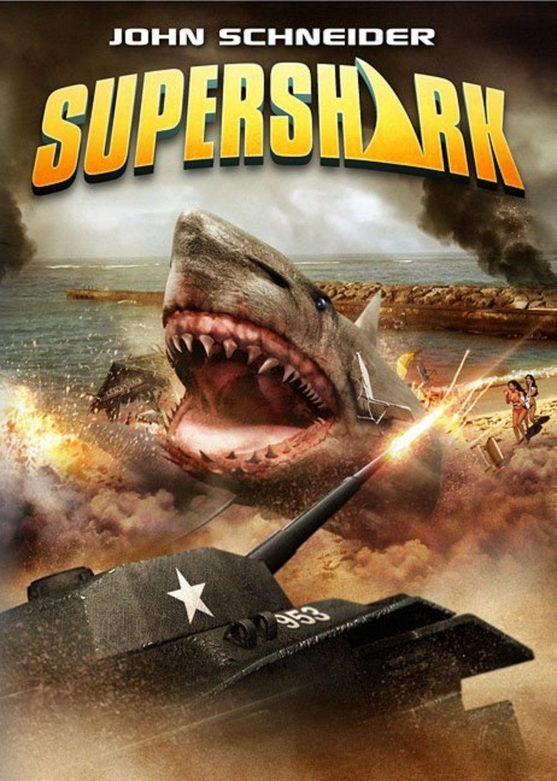 Super Shark movie poster