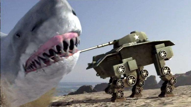Super Shark movie scenes