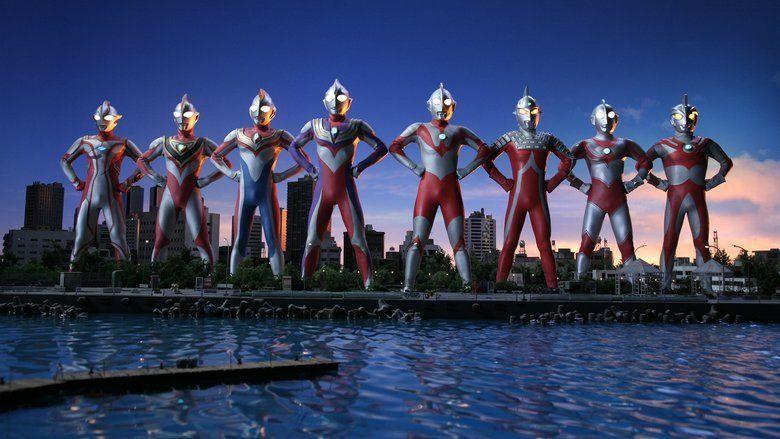 Superior Ultraman 8 Brothers movie scenes