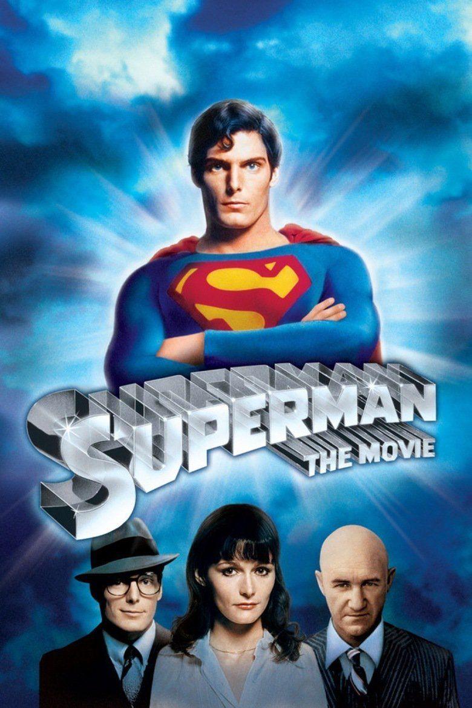 Superman (1978 film) movie poster