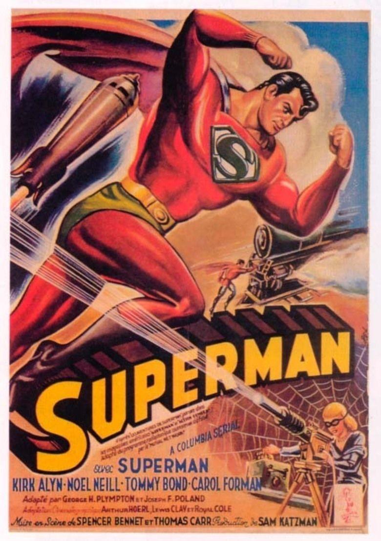 Superman (serial) movie poster