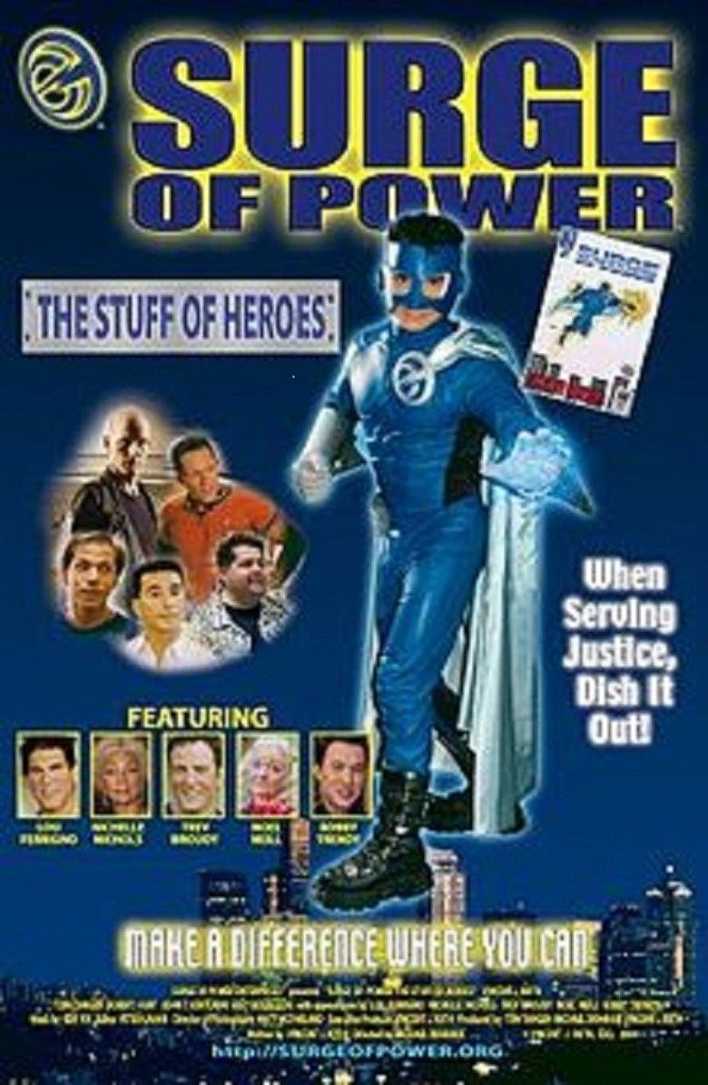 Surge of Power: The Stuff of Heroes movie poster
