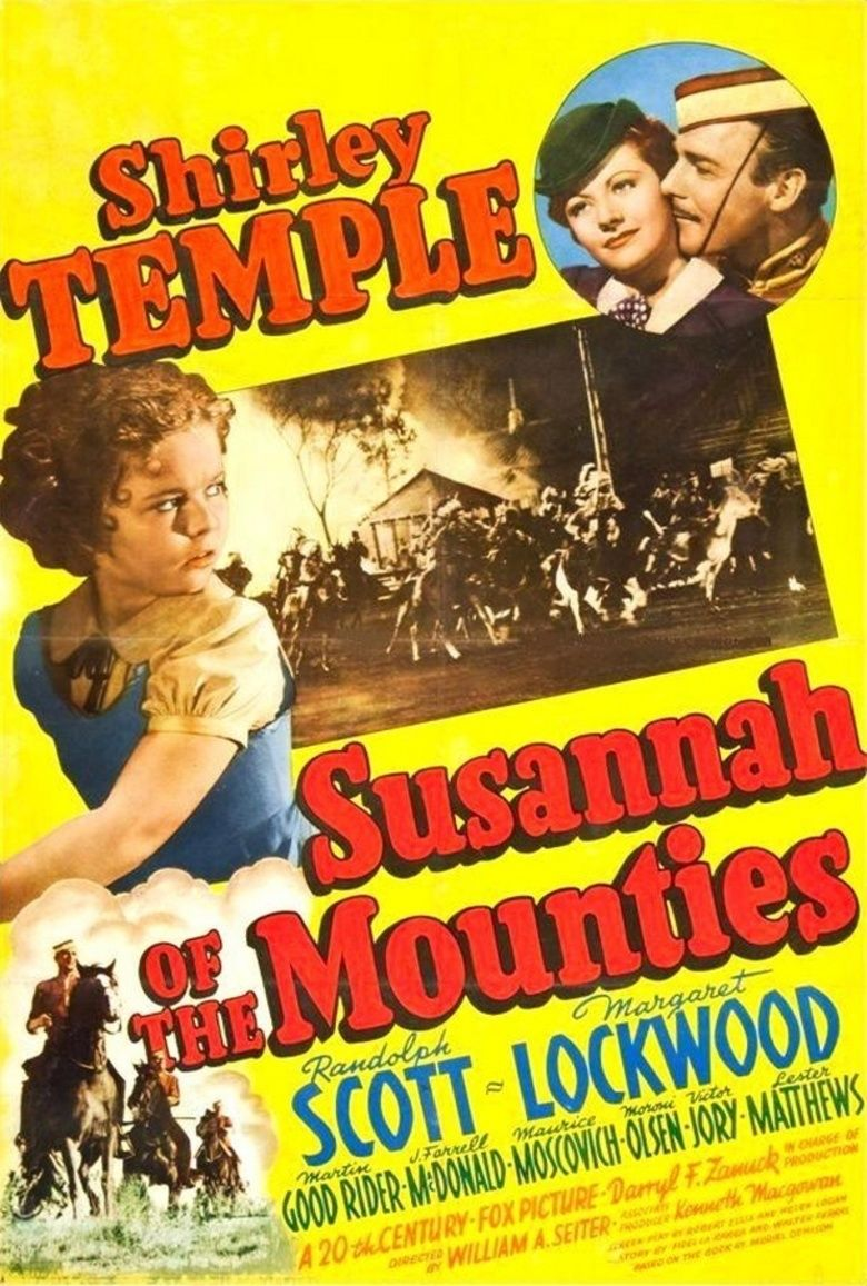 Susannah of the Mounties movie poster