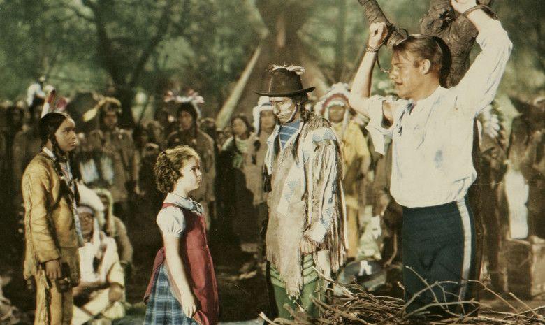 Susannah of the Mounties movie scenes